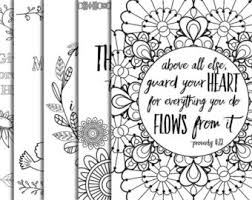 Christian Art Designs 5 Hand Drawn Bible Verse Coloring Pages Inspirational Quotes