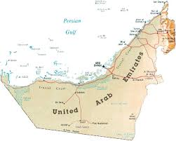 map of the uae map of the uae by phonebook of uae