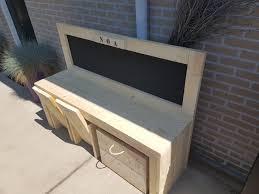 bureau of met los bureau met krijtbord bureaus en tafeltjes steigerhuys