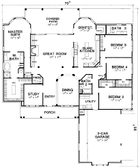 what is a split floor plan split bedroom hill country 31077d architectural designs