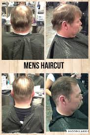 men u0027s haircut medium fade went from a 1 to a 3 and scissor cut the