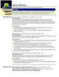 resume format for teachers freshers doc holliday latest resume format teachers college instructor resume sle