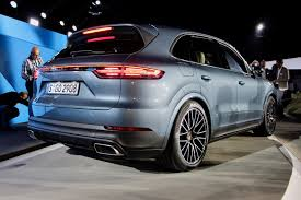suv porsche updated 2019 porsche cayenne revealed with 911 inspired styling