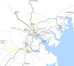 Bwi Airport Map File Baltimore Rail Plan Svg Wikimedia Commons