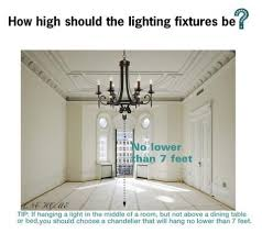 How High To Hang Chandelier Dining Room Chandelier Height Home Design Height To Hang Light