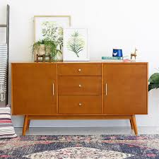walker edison furniture company 60 in mid century modern wood tv