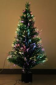ideas fiber optic christmas tree outdoor artificial christmas