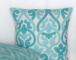 aqua pillows etsy