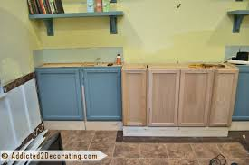 Kitchen Bookcases Cabinets Living Room Diy Built In Bookcases Part 1