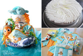 dinner and diaper cakes