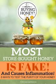 5 easy tests you can do at home to avoid fake honey