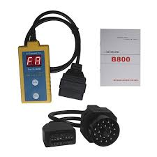 professional b800 car diagnostic airbag scanner srs reset tool for