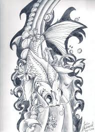 29 best vampire koi fish tattoo designs images on pinterest fish