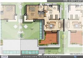 sterling villa grande 3 u0026 4 bedroom villas bangalore