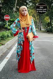 desain baju jepang baju muslim terbaru kimono jepang job fashion