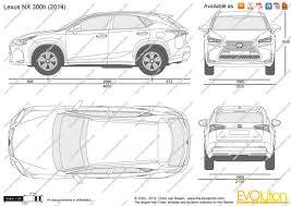 lexus car logo vector the blueprints com vector drawing lexus nx 300h