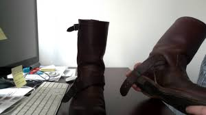 engineer style motorcycle boots redwings engineers boots 2991 youtube