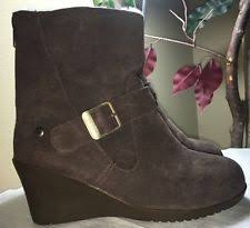 s gissella ugg boots ugg australia zip wedge ankle boots for ebay