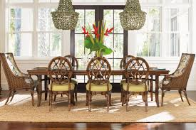 Rattan Dining Room Set Exterior Interesting Outdoor And Indoor Furniture Design With