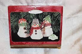 hallmark keepsake ornament the snowmen of mitful collectable