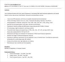 Sample Resume For 2 Years Experienced Software Engineer gallery creawizard com all about resume sample