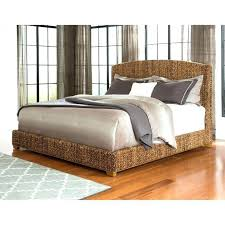 Platform Bed Uk Rattan Bed Headboard Stupendous Rattan Platform Bed Medium Size Of