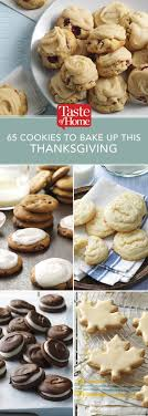 65 cookies to bake up this thanksgiving thanksgiving holidays