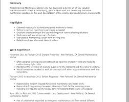 Maintenance Resume Samples by Projects Design Maintenance Resume Sample 11 Professional General
