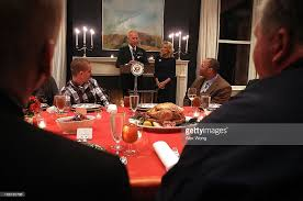bidens host wounded warriors for early thanksgiving dinner photos