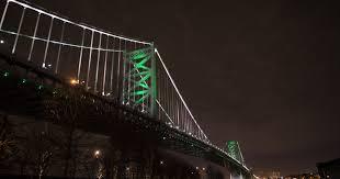 ben franklin light bulb drpa plans upgrade for lighting system on ben franklin bridge