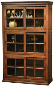 Bookcase With Doors Daytona Bookcases With Sliding Glass Doors Bookcases Kloter Farms