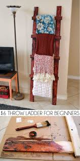 top 25 best cheap apartment ideas on pinterest cheap bedroom even a total beginner can make this simple rustic throw ladder for about 6