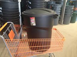 outdoor trash cans garbage galvanized tubs at ace hardware
