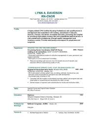 New Grad Nursing Resume Examples Sample Nursing Resume New Grad Unforgettable Operating Roomnursing