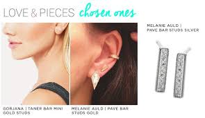 bar stud earrings bar stud earrings trend report