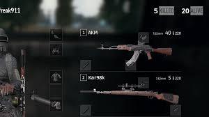 pubg kar98k bug the sniper silencer is displayed on the kar98k but the on the