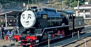 japan sized thomas tank engine steam train run
