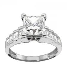 cinderella engagement ring cinderella staircase with 2 01 princess cut center 14k white