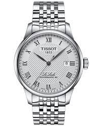 stainless steel bracelet tissot images Tissot men 39 s swiss le locle stainless steel bracelet watch 39mm tif