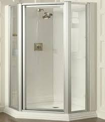 Corner Units For Bathrooms Corner Shower Units Frameless Shower Doors