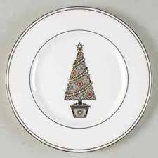 lenox federal platinum accent luncheon plate 5790761 ebay