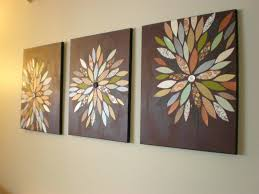 wall ideas diy wall art with paper homemade wall decoration