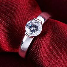 crystal rings wholesale images 925 sterling silver cz diamond ring for women vintage jewelry jpg