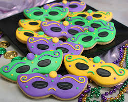 mardi gras cookies for a sweet festive treat make some honey sugar cookies and
