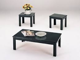 black coffee table sets modern interior design inspiration