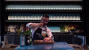 martini sapphire the laverstoke winter edition bombay sapphire cocktail youtube