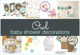 owl themed baby shower decorations owl baby shower decorations shower that baby