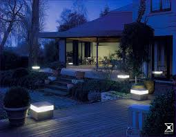 outdoor magnificent led yard lights deck string lights outside
