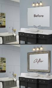 30 best mirror makeovers images on pinterest bathroom ideas