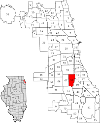 Illinois Map Of Cities by Englewood Chicago Wikipedia